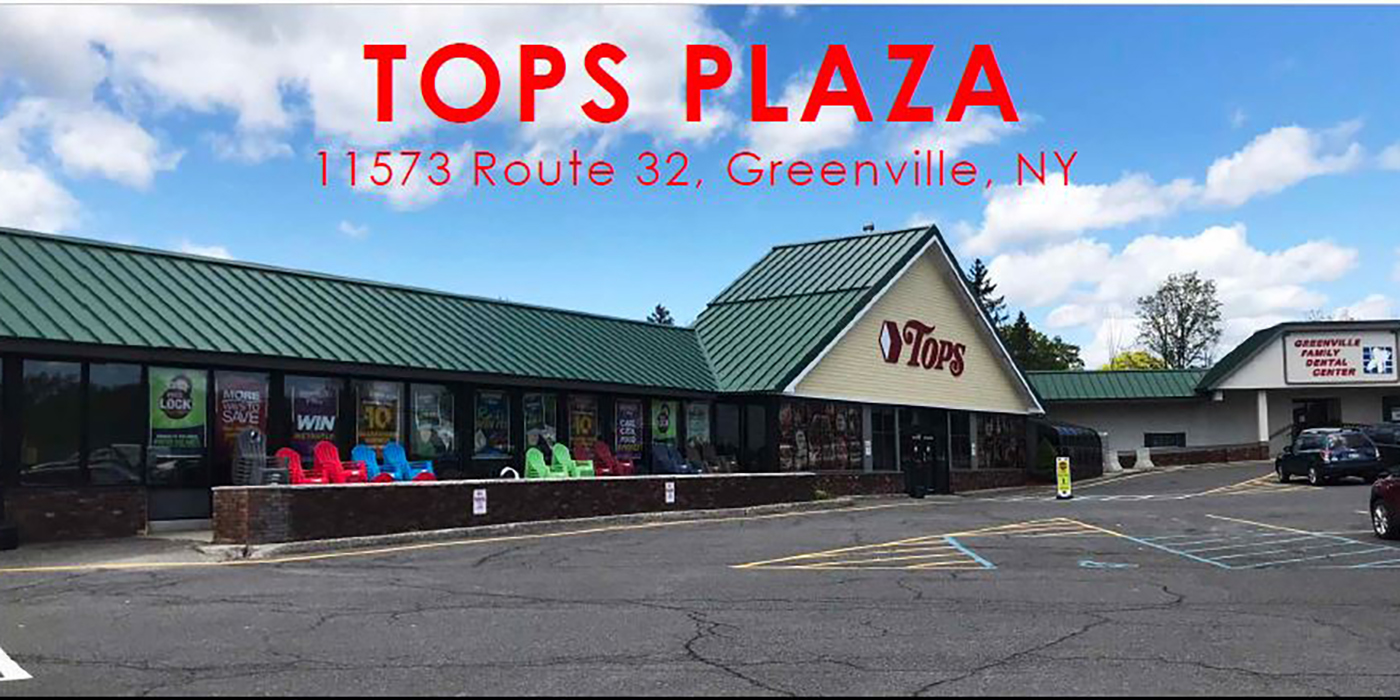 Tops Plaza Available Spaces in Greenville